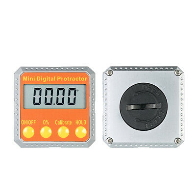 DV_ 360° Digital LCD Protractor Level Bevel Angle Gauge Angle Finder Magnetic l
