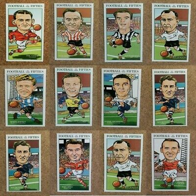 Football In The Fifties Philip Neill 2001 Single Football Player Cards - Various