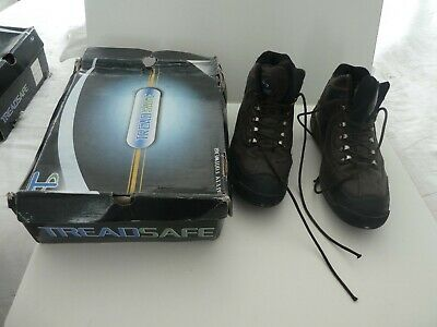 Treadsafe Mens Brown Safety Footwear Boots   11     Lace Up