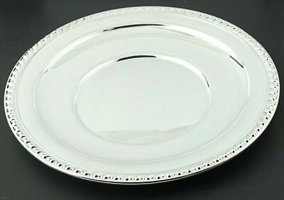 """Wallace Halifax Sandwich Plate 12"""" Sterling Silver H104 Serving Tableware"""