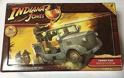 TROOP CAR Indiana Jones RAIDERS OF THE LOST ARK Unopened FIRING PROJECTILE