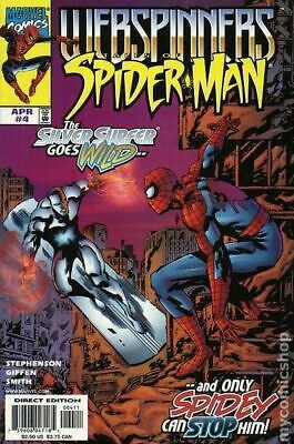 Webspinners Tales of Spider-Man #4 1999 VG Stock Image Low Grade