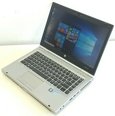 HP Elitebook 8470P Intel Core i5-3210M @ 2.50GHZ, 4GB Ram, 320GB HDD, Win 10 Pro