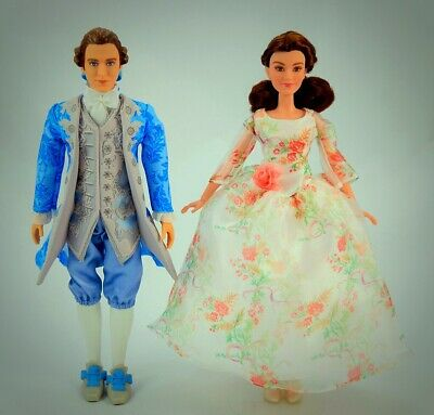 Disney Beauty and The Beast Royal Celebration Princess Doll ~ Belle & Prince Set