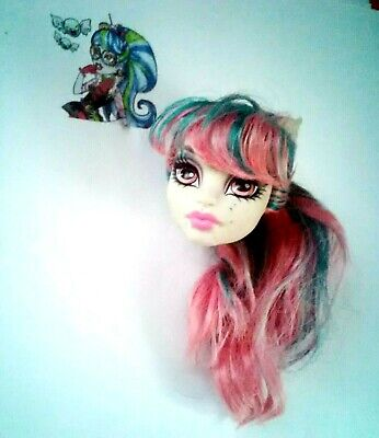 Monster High Doll Head Rochelle Goyle Scaris Repaint OOAK Cheapest On Ebay