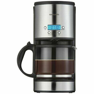 Christmas Special Cookworks Filter Coffee Maker With Timer
