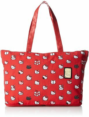 04a02d840 [Hapitasu] Folding tote bag HELLO KITTY meets muta carry on possible rich  handl