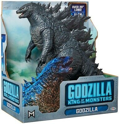 Jakks Pacific Godzilla 2019 Movie King Of The Monsters Action Figure In Hand.