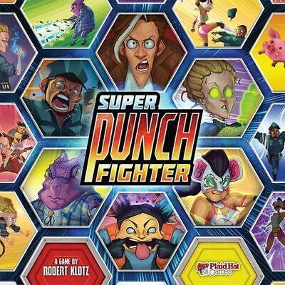 Super Punch Fighter - Strategy Board Game
