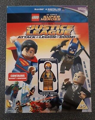 """Lego DC Blu-Ray """"Justice League Attack of the Leigon of Doom"""" - Trickster figure"""