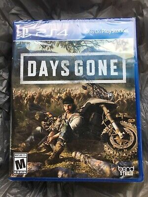 Days Gone (PS4 / PlayStation 4, 2019) BRAND NEW / Region Free