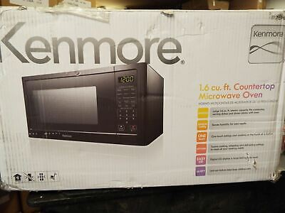 Kenmore 76989 1 6 Cu Ft Microwave Oven Black New
