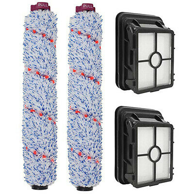 Supply Brush Roll Filter 2 Sets Surface Vacuum Cleaner For Bissell Crosswave