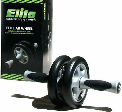 Elite Sportz Ab Wheel Roller - This Exercise has Dual Wheels for Extra...NEW