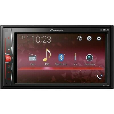 Pioneer MVH-210EX Double Din In-Dash Multimedia Bluetooth A/V Receiver