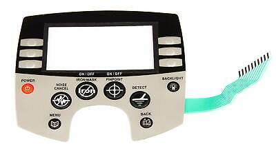 Minelab Explorer Faceplate / Control Panel to fit all Explorer series Detectors.