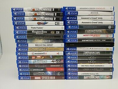 Playstation 4 Spiele : FIFA,Star Wars,Spiderman,COD,AC,Lego,Steel,Final,PS4