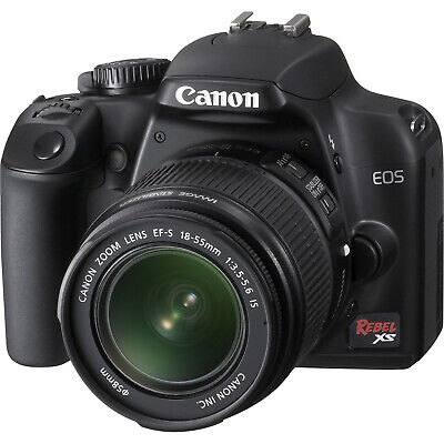 Canon Rebel XS 10.1MP Digital SLR Camera with EF-S 18-55mm IS f/3.5-5.6 Lens
