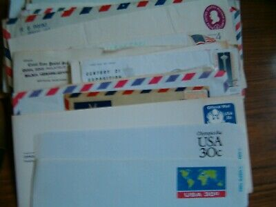 75 Envelopes from Different Countries-Postmarked with Stamps
