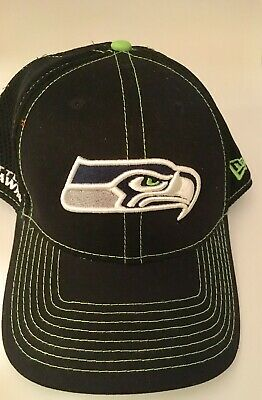 san francisco 9e14d d5ead NWT Seattle Seahawks New Era Brand 39 Thirty Baseball Hat New Lg-XLg Strech