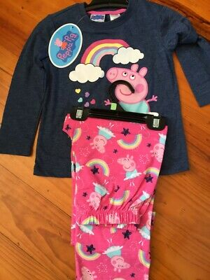 Peppa Pig Girls Kids Pyjama set New with Tags various sizes free postage