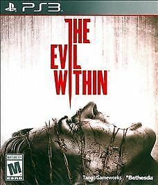 Evil Within (Sony PlayStation 3, 2014) DISC IS MINT