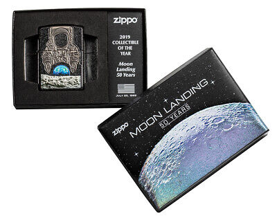 Zippo 50 Years Moon Landing Collectible of the Year Limited Edition Armor Case