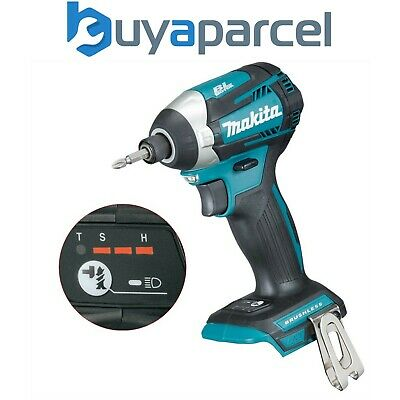 Makita DTD154Z 18v LXT Lithium Brushless Cordless 3 Stage Impact Driver T-MODE