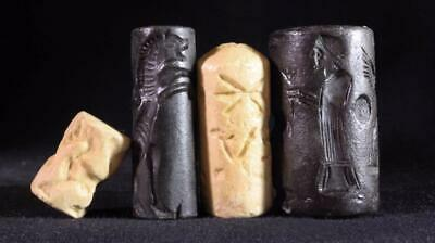 ANCIENT CYLINDER SEAL SET #22 replica ancient stone seals