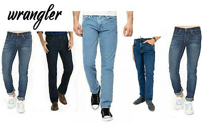 654caa1c Brand New Wrangler Durable Stretch Pant Denim Jeans Regular Fit Trouser For  Men