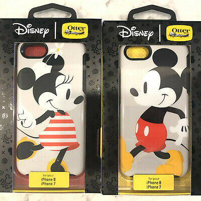 cheap for discount d16a4 44c7d OTTERBOX SYMMETRY DISNEY Minnie & Mickey Hard Case Cover For iPhone 7 /  iPhone 8