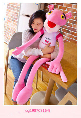 "Pink Panther Plush Toy Stuffed Animal Doll 130cm 50"" LARGE LIFE SIZE Figure"