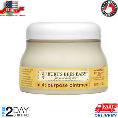 Burt's Bees Baby 100% Natural Multipurpose Ointment Face Body Ointment 7.5 Ounce