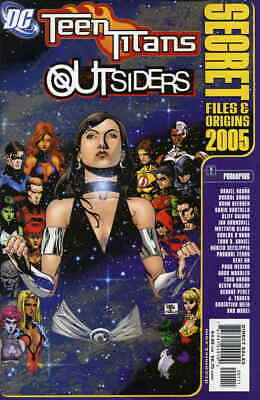 Teen Titans and Outsiders Secret Files and Origins #1 VF/NM; DC | save on shippi