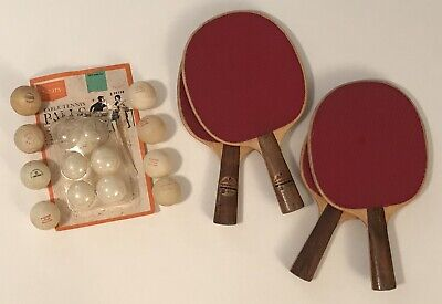 Amazing Vintage Ping Pong Table Tennis Foremost 5 Ply Harvard Paddles Sears Windsor Ball Home Remodeling Inspirations Propsscottssportslandcom