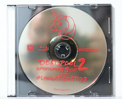 Deadpool 2 Super Duper Cut (Blu-ray Disc, 2018) - NEW BLU-RAY ONLY