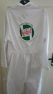 Castrol Gtx mechanic Boiler Suit overalls unworn 46 R goodwood revival vintage