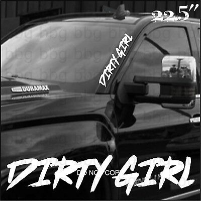 Rdecals Dirty Diesel Truck Windshield Banner Decal//Sticker 6x44