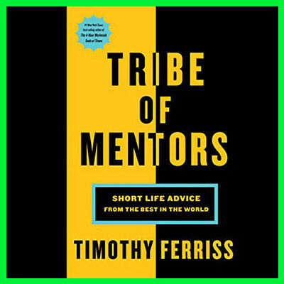 Tribe of Mentors Short Life Advice from (E-book){PDF}⚡Fast Delivery(10s)⚡
