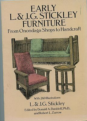 Early L. & J.G. Stickley Furniture From Onondaga Shops to Handcraft-Book-1992