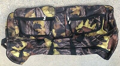 Camouflage Bag Duffle Luggage Travel Tote Hand Rolling Wheeled Sports Bag 30 in