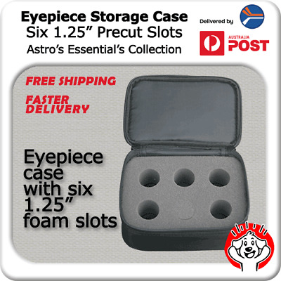 Telescope Eyepiece Case (Foam, Precut, Protect from dust)