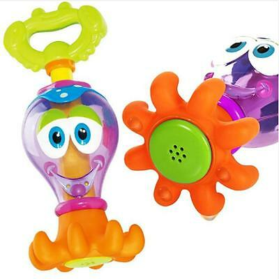 Floated Bath Toys Baby Octopus Kids Infant Toddlers Learn Play Fun Toys Z