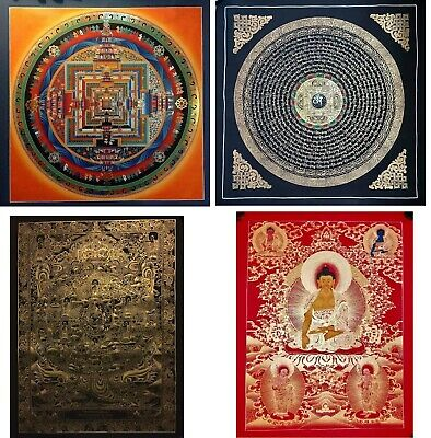 Original Hand painted Master Piece Tibetan thangka Paintings Buddha Mandala Tara