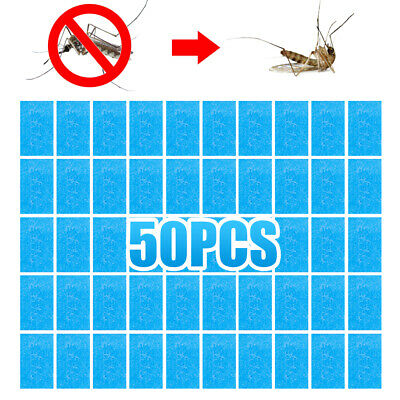 50PCS Mosquito Repellent Insect Bite Mat Tablets Refills Replace Pest Repeller