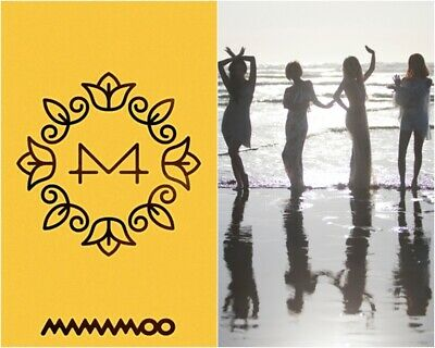 MAMAMOO: YELLOW FLOWER* CD+Full Package+Poster+Gift (RBW) K-POP New Sealed