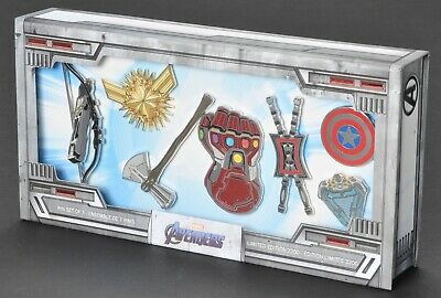 Sold Out 2019 Disney Marvel Avengers Endgame Pin Set Limited Edition 2200 NEW