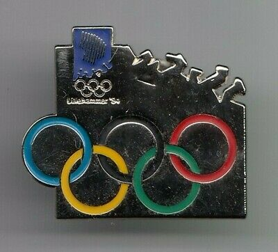 Rare Pins Pin's .. Olympique Olympic Jeux Games Norvege Lillehammer 1994 ~19