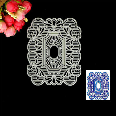 Frame Design Metal Cutting Die For DIY Scrapbooking Album Paper Cards  JD