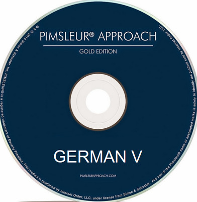 Pimsleur Approach German V - Complete Set of 16 CDs - Level (5)